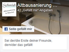 Altbausanierung Schmidt auf facebook
