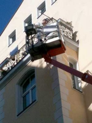 ltbausanierung München: Fassaden Sanierung